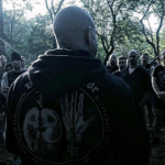 Greg Walsh, owner of Wolf Brigade Gym, training Neo-Nazis at the Lupine Equinox Conclave