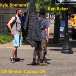 COMMUNITY ALERT: Kyle Bonham Domestic Abuser and Fascist Collaborator